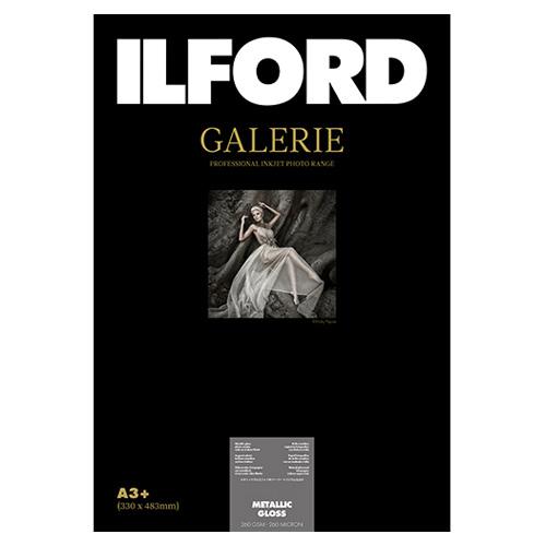 422117 イルフォード インクジェット用紙 メタリックグロス 厚手 メタル調 A3+ 50枚 ILFORD GALERIE METALLIC GLOSS ギャラリー プロフォトペーパー