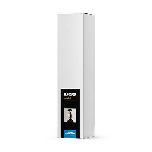 422397 イルフォード インクジェット用紙 厚手 テクスチャードマット面質 1118mm×15mロール 3インチ ILFORD COTTON ARTIST TEXTUREDギャラリー プレステージ コットンアーティストテクスチャード
