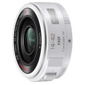 H-PS14042-W パナソニック LUMIX G X VARIO PZ 14-42mm F3.5-5.6 ASPH. POWER O.I.S ホワイト ※マイクロフォーサーズ用レンズ