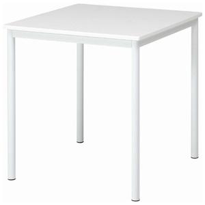 84132 不二貿易 ダイニングテーブル シュクル 幅75(ホワイト) SUCRE