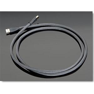 High Performance USB トランスペアレント オーディオグレードUSBケーブル(1.0m・1本)【A】タイプ⇔【B】タイプ【メーカー取り寄せ品】 TRANSPARENT