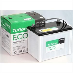 JE 90D26R 日立 国産車用バッテリー 充電制御車対応【他商品との同時購入不可】 Tuflong ECOシリーズ