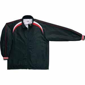 CB462506S-1911-140 コンバース ジュニア用ウォームアップジャケット(ブラック/ホワイト・サイズ:140) CONVERSE