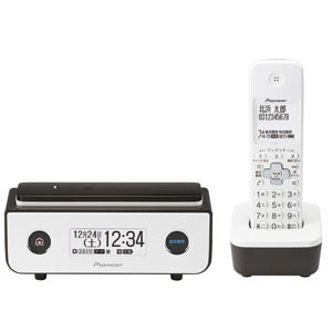 TF-FD35W(BR) パイオニア デジタルコードレス留守番電話機(子機1台)ビターブラウン Pioneer TF-FD35シリーズ