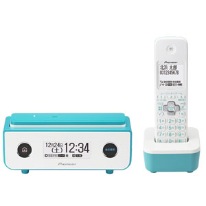 TF-FD35W(L) パイオニア デジタルコードレス留守番電話機(子機1台)ターコイズブルー Pioneer TF-FD35シリーズ