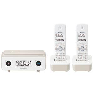 TF-FD35T(TY) パイオニア デジタルコードレス留守番電話機(子機2台)マロン Pioneer TF-FD35シリーズ [TFFD35TTY]【返品種別A】