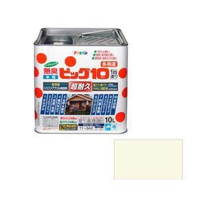 ビツグ10タヨウト10L MIW アサヒペン 水性ビッグ10多用途 10L(ミルキーホワイト)