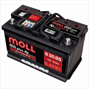 MOLL 83085 MOLL 欧州車用バッテリー【他商品との同時購入不可】 M3plusシリーズ