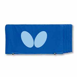 BUT-70360-177 バタフライ 卓球台用備品(ブルー) フェンス(1.4m) 5枚1組