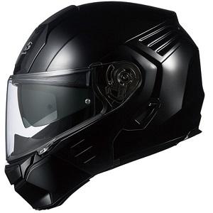 KAZAMI-BK-XL OGKカブト システムヘルメット(ブラックメタリック [XL]) KAZAMI