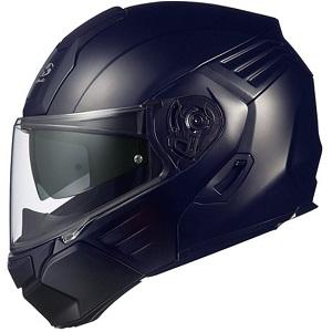 KAZAMI-FBK-L OGKカブト システムヘルメット(フラットブラック [L]) KAZAMI