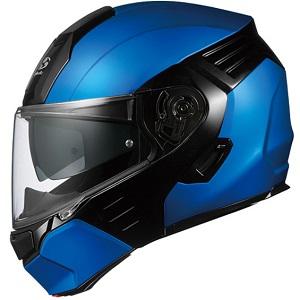 KAZAMI-BLBK-S OGKカブト システムヘルメット(フラットブルー/ブラック [S]) KAZAMI