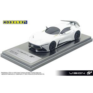 1/43 INFINITI CONCEPT Vision Gran Turismo HOARFROST RAZOR WHITE【MD43007WH】 モデラーズ