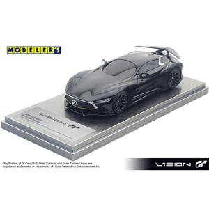 1/43 INFINITI CONCEPT Vision Gran Turismo HOARFROST BLACK KNIGHT【MD43007BK】 モデラーズ