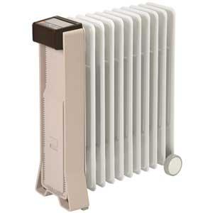 RFX11EH(CB) ユーレックス オイルヒーター(4~10畳 シナモンベージュ) 【暖房器具】eureks