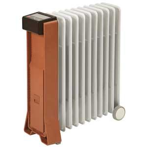 RFX11EH(TB) ユーレックス オイルヒーター(4~10畳 テラコッタブラウン) 【暖房器具】eureks