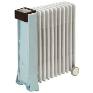 RFX11EH(MG) ユーレックス オイルヒーター(4~10畳 ミントグリーン) 【暖房器具】eureks