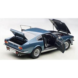1/18 アストンマーチン V8 ヴァンテージ 1985 (シルバー・ブルー)【70223】 オートアート