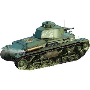 1/35 チェコ・シュコダLTVz35軽戦車&ルーマニア・R2戦車(2タイプ選択式)【CB35105】 ブロンコ
