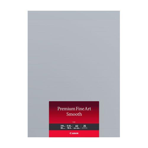 クリアランスsale 期間限定 FA-SM1A225 キヤノン プレミアムファインアート スムース A2サイズ 25枚入 本物◆