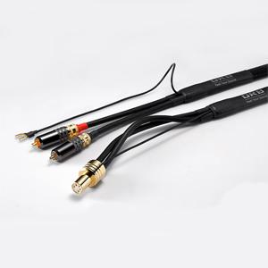 LC-J7-PHONO-DIN S2 オーブ フォノケーブル(2.0m)【RCA-DIN ストレート型】 ORB