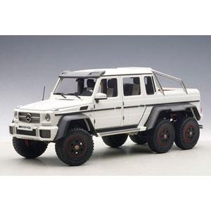 1/18 メルセデス ベンツ G63 AMG 6X6 (マット・ホワイト)【76303】 オートアート