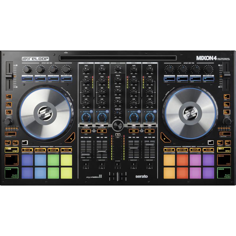 MIXON4 リループ マルチプラットフォーム対応4CH DJコントローラ RELOOP