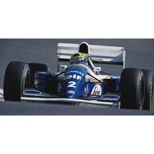 1/43 ウィリアムズ ルノー FW16 A .セナ パシフィックGP 1994 セナ・コレクション【547940202】 ミニチャンプス