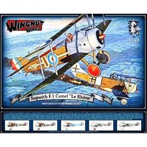 1/32 ソッピース F.1 キャメル「ル・ローヌ」【WNG32071】 ウィングナット・ウィングス