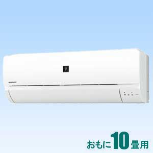 AY-G28S-W シャープ 【標準工事セットエアコン】(10000円分工事費込)高濃度プラズマクラスター7000搭載 おもに10畳用 GSシリーズ ホワイト系