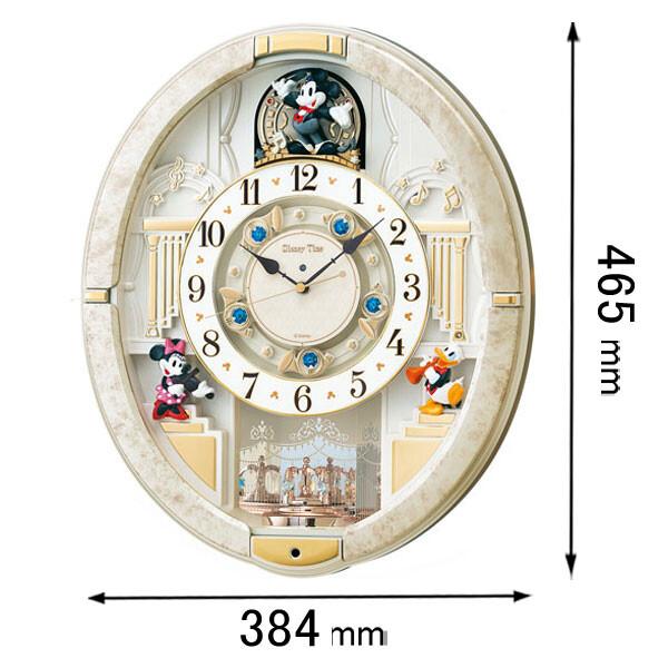 FW580W セイコークロック からくり時計 【ディズニー】 からくり時計 ミッキー&フレンズ [FW580W]【返品種別A】