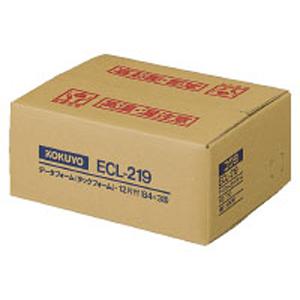 ECL-219 コクヨ タックフォーム(Y8×T10 12片 500枚) KOKUYO S&T
