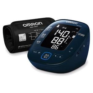 HEM-7281T オムロン 上腕式血圧計 (ダークネイビー) OMRON