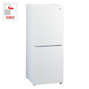 (標準設置料込)JR-NF148A-W ハイアール 148L 2ドア冷蔵庫(ホワイト)【右開き】 Haier Global Series