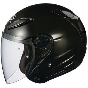 AVAND2-BK-L OGKカブト ジェットヘルメット(ブラックメタリック L) AVAND-II