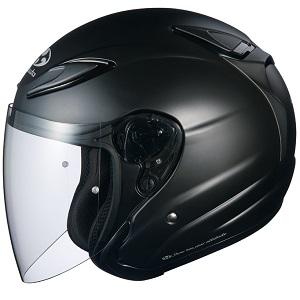 AVAND2-FBK-M OGKカブト ジェットヘルメット(フラットブラック M) AVAND-II