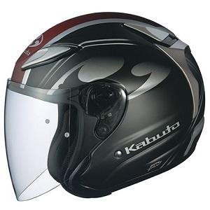 AVAND2-CITTA-FBK-L OGKカブト ジェットヘルメット カラーリング(フラットブラック L) AVAND-II CITTA