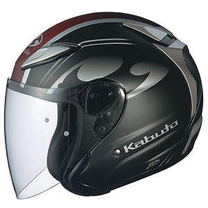 AVAND2-CITTA-FBK-XL OGKカブト ジェットヘルメット カラーリング(フラットブラック XL) AVAND-II CITTA