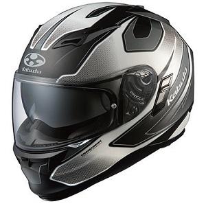 KAMUI2-STINGER-BKWH-M OGKカブト フルフェイスヘルメット カラーリング(フラットブラックホワイト M) KAMUI 2 STINGER