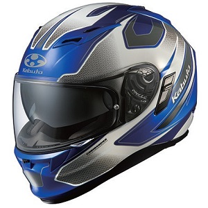KAMUI2-STINGER-BLWH-S OGKカブト フルフェイスヘルメット カラーリング(ブルーホワイト S) KAMUI 2 STINGER