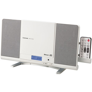 SDB-4339-W コイズミ Bluetooth搭載SD/USB対応CDラジオ(ホワイト) KOIZUMI