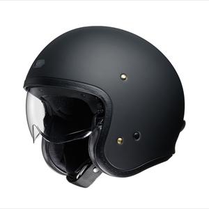 J・O-MBK-XL SHOEI ストリートジェットヘルメット((マットブラック)[XL]) J・O
