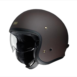 J・O-MBR-S SHOEI ストリートジェットヘルメット((マットブラウン)[S]) J・O
