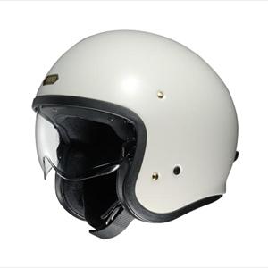 J・O-WH-L SHOEI ストリートジェットヘルメット((オフホワイト)[L]) J・O [SJOWHL]【返品種別B】