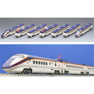 [鉄道模型]トミックス (Nゲージ) 98967 JR E3系2000番台 山形新幹線「つばさ・Treasureland TOHOKU-JAPAN」7両セット【限定品】