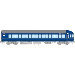[鉄道模型]トラムウェイ (HO) TW20-012 国鉄20系客車 ナハフ20(曲面ガラス)