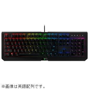 RZ03-01761000-R3J1 Razer ゲーミングキーボード 日本語配列 BlackWidow X Chroma