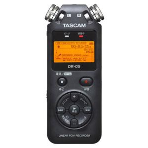 DR-05 VER2-JJ タスカム リニアPCMレコーダー TASCAM DR-05VER2-JJ 日本語対応版