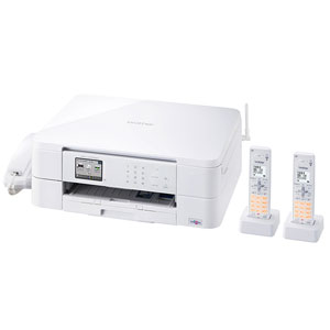 MFC-J737DWN ブラザー A4対応 FAX複合機(コードレス受話器2台) PRIVIO(プリビオ) BASICシリーズ