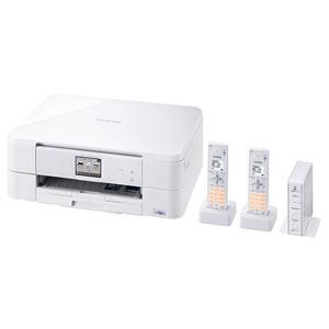MFC-J837DWN ブラザー A4対応 FAX複合機(コードレス受話器2台) PRIVIO(プリビオ) BASICシリーズ